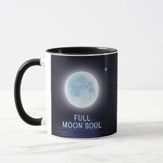 Tasse personnalisée de phase de pleine lune