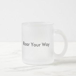 Tasse personnalisée de tasse de conception d'art