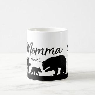 Tasse personnalisée d'ours de mamans