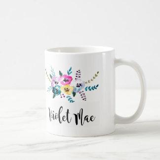 tasse personnalisée, tasse décorée d'un monogramme