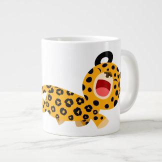 Tasse plaisante d'éléphant de léopard de bande des mug jumbo