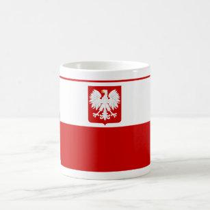 Tasse polonaise de drapeau
