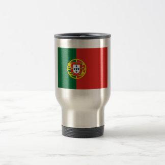 Tasse portugaise de voyage de drapeau