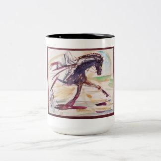 Tasse pour des amants de cheval