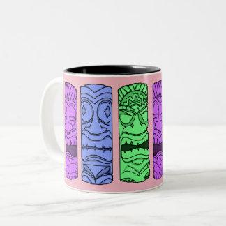 Tasse principale de Tiki d'art de bruit