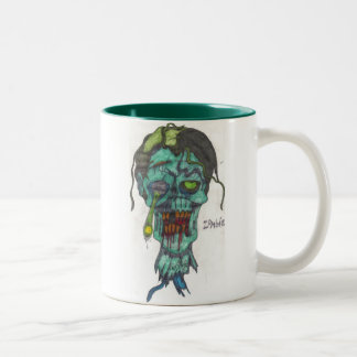 Tasse principale de zombi