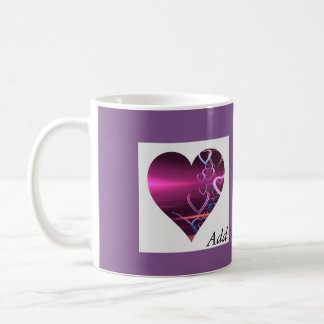 Tasse Purple Heart de personnaliser
