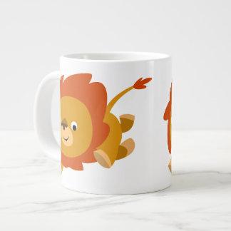 Tasse rapide mignonne d'éléphant de lion de bande  mug jumbo