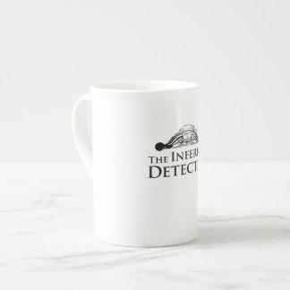 Tasse révélatrice infernale de porcelaine tendre mug en porcelaine