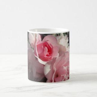 Tasse rose de roses