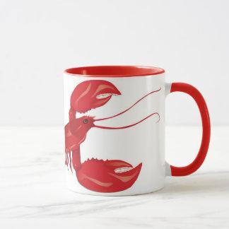 Tasse rouge de homard