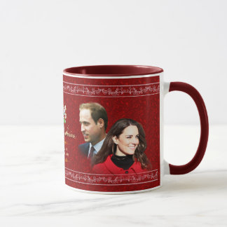 Tasse royale de mariage de William et de Kate