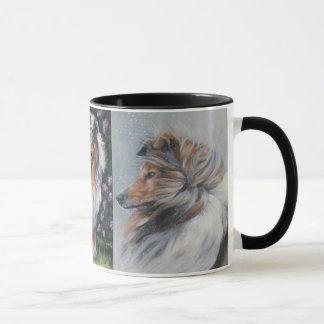 Tasse rugueuse de colley