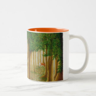Tasse rusée de forêt
