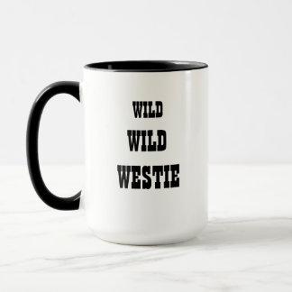 Tasse sauvage sauvage de Westie