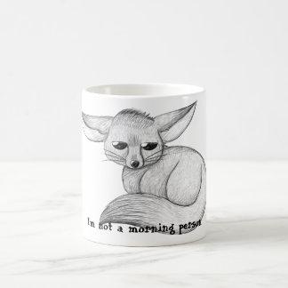 Tasse somnolente de *REDESIGNED* de Fox de Fennec