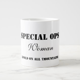 Tasse spéciale de femme d'Ops Mug Jumbo