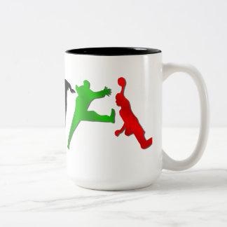 Tasse spéciale de handball de joueurs de handball