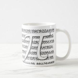 Tasse spéciale de jour de pi pour les amants et le mug blanc