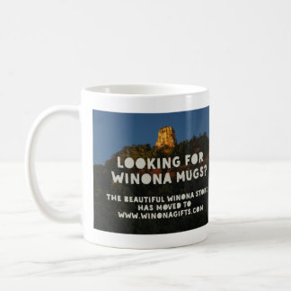 Tasse Sugarloaf de Winona Minnesota la nuit
