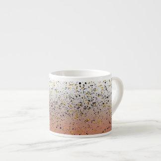 Tasse tachetée mélangée de gradient