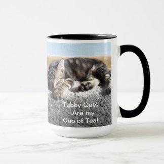 Tasse tigrée de chaton