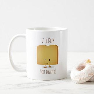 Tasse Toasty de l'illustration | de caractère de