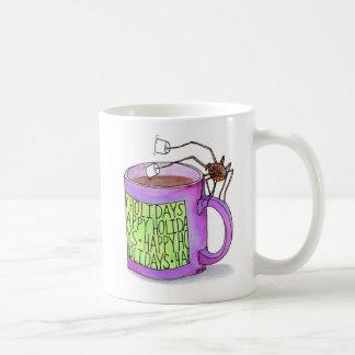 Tasse trempante de guimauves d'araignée