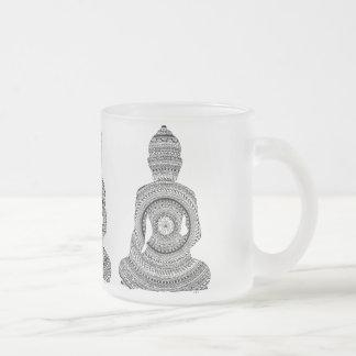 Tasse verre bouddha GraphiZen