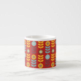 Tasse verticale de café express de conception de
