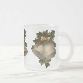Tasse victorienne de Noël de Bells de houx