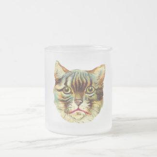 Tasse vintage de chat