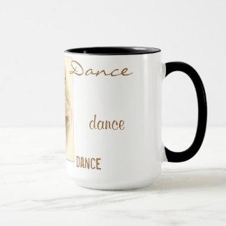 Tasse vintage de danse de danseurs classiques