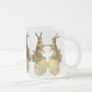 Tasse vintage de lapin de Pâques