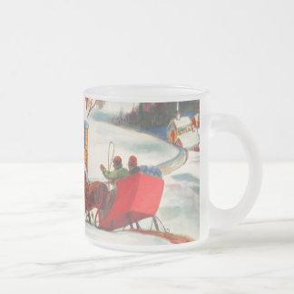 Tasse vintage de Noël