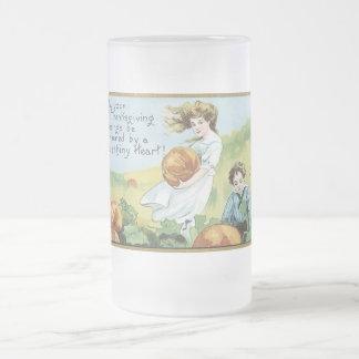 tasse vintage de thanksgiving