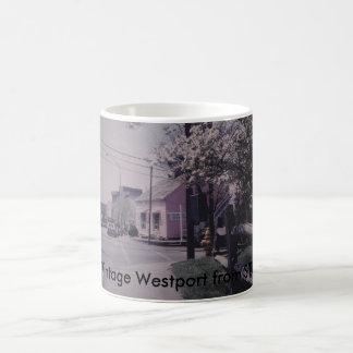 Tasse vintage de Westport - librairie remarquable