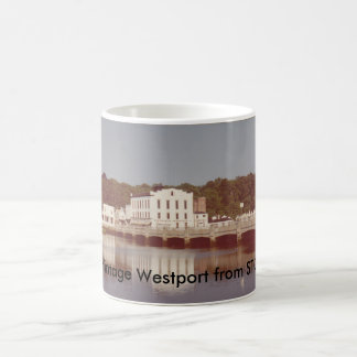 Tasse vintage de Westport - pont de Steinkraus