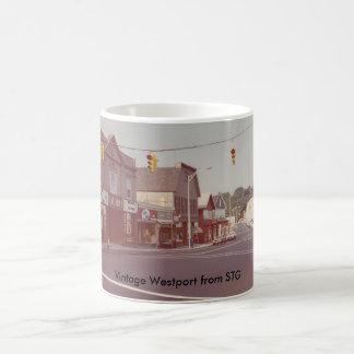 Tasse vintage de Westport - théâtre de beaux-arts
