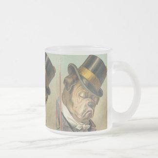 Tasse vintage drôle de chien