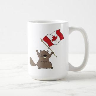 Tasse vive de jour du Canada