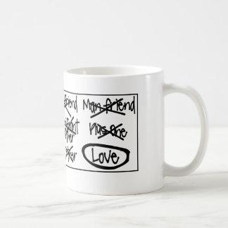 Tasses d'ami - tasses mignonnes !