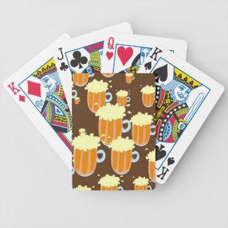 Tasses de bière jeu de cartes