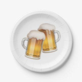 Tasses de bière tintantes - Emoji Assiettes En Papier