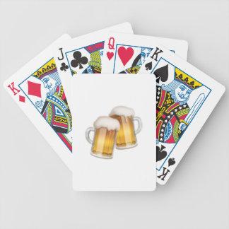 Tasses de bière tintantes - Emoji Jeu De Cartes