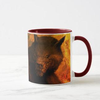 Tasses de buste de loup-garou