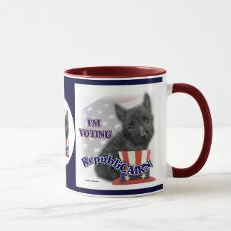 Tasses de cadeaux de Terrier de cairn