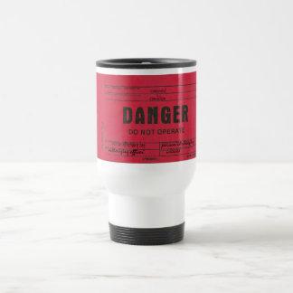 Tasses de café personnalisables d'étiquette de