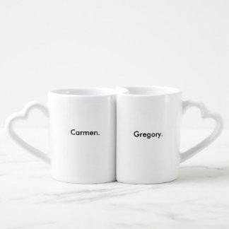 Tasses de couples