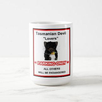 Tasses de diable de la Tasmanie